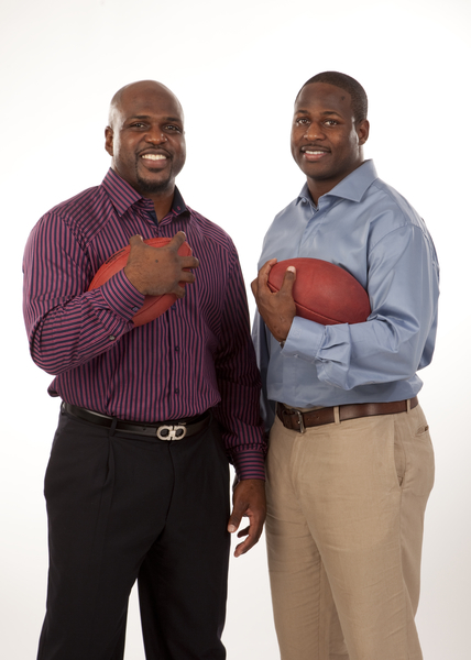 Earnest Graham and Cadillac Williams